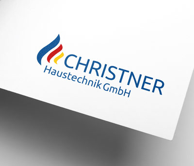 Haustechnik Christner Corporate Design